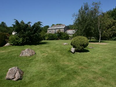 Photo for 3 Bedroom Accommodation in Two Acres of Gardens on edge of village of Blisland