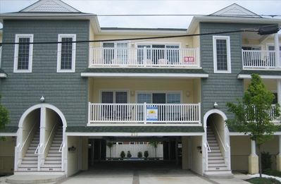 Photo for Sunny and Airy Wildwood Condo, Central Location