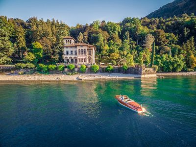 Photo for Villa Bellagio in Lake Como, Lakefront