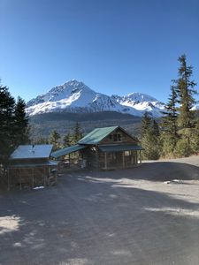 Photo for New Listing! Beautiful Mountain Top Cabin with Amazing Views