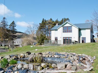 Photo for Attractive high spec house near Glenshee, great for outdoor activities, skiing and group bookings.