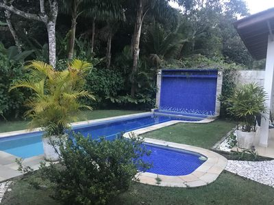 """Photo for """"Beautiful House On The Riviera""""! Four Suites, 5 Bathrooms, Waterfall Pool, BBQ."""