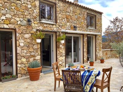 Photo for PRIVATE VILLA WITHIN A PROVENCAL MAS, 8 PEOPLE - PRIVATE HOUSE IN 8 GUEST