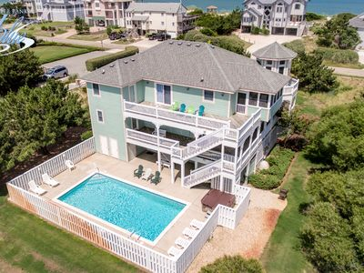 Photo for Stillwater | 98 ft from the beach | Dog Friendly, Private Pool, Hot Tub