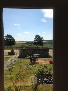 View from Ryedale Cottage's main window