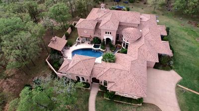 Pine Tree Ranch Villa is the main attraction centered on 125 acres