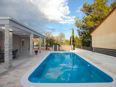 Photo for Vacation home Lesinger in Starigrad-Paklenica - 9 persons, 3 bedrooms