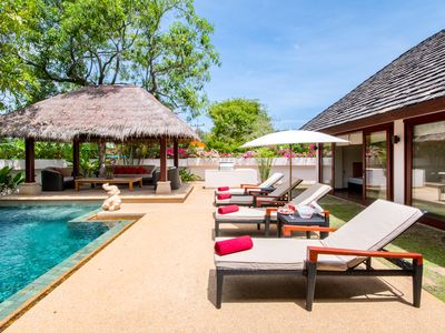 Photo for Baan Thai Bali Villa is Located only 400 metres from Bang Tao Beach