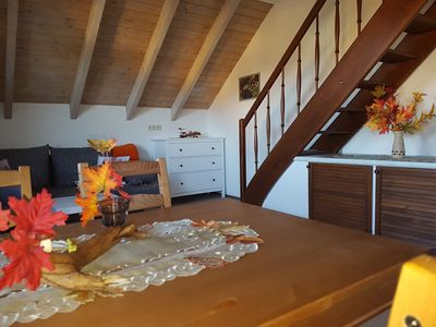 Photo for Cozy apartment in the beautiful Ore Mountains - apartment autumn