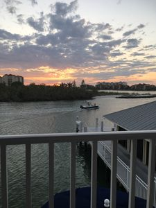 Best sunsets from the balcony, come watch the dolphins play right outside!