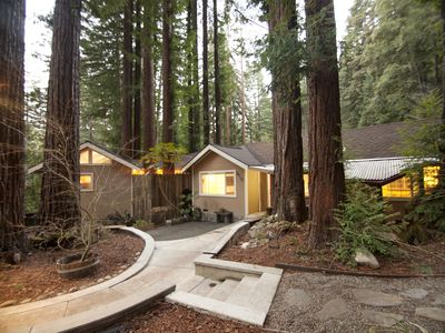 Photo for The Lilac Cabin - Cozy cabin in the heart of the Santa Cruz Mountain Redwoods