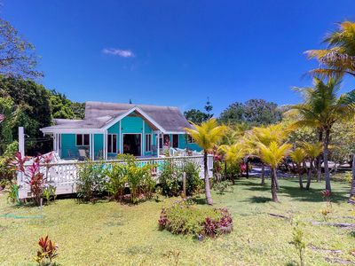 Photo for Lush plantation home w/ private pool, terrace & garden - 5-minute walk to beach!