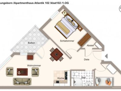 Photo for kbat102 Apartment house Atlantik 102 - Apartment house Atlantik 102
