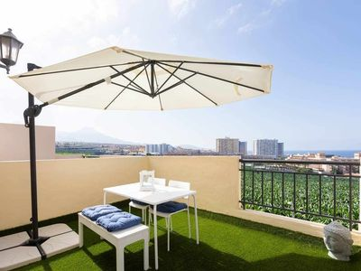 Photo for TROPICAL VIEWS.DUPLEX APARTMENT WITH TERRACE