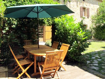 Photo for Vacation home Mas du Vieux Four (SVO100) in Saint Victor la Coste - 6 persons, 2 bedrooms