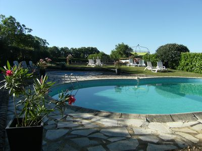 Photo for Beautiful  family friendly gite in the Dordogne valley with heated pool