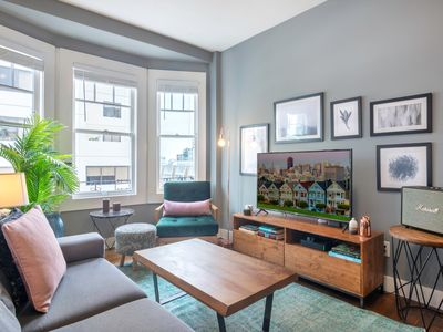 Photo for Sharp Lower Pacific Heights 1BR w/ Washer + Dryer by Blueground