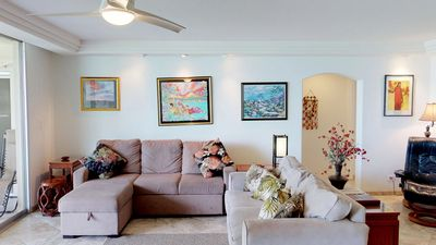 Photo for Beautiful 3 Bd w/ AC - Great Location - Starts @ $525.00/nt - Royal Mauian #202