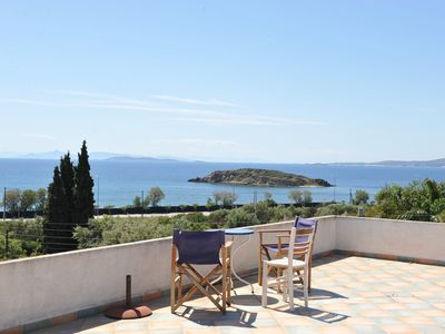 Photo for Villa Linares is a family friendly residence in the Athenian Riviera.