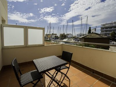 Photo for ista Roses Mar - Renovated one-bedroom apartment with canal view.