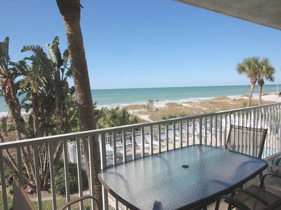 Photo for Beachfront Beauty, Gulf-view Balcony, Free Wi-Fi, Cable & Phone, W/D, Pool-103 Hamilton House
