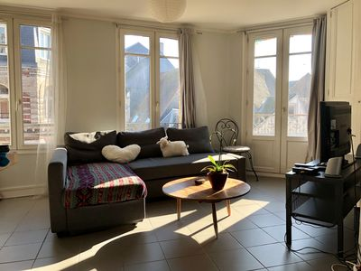 Photo for Beautiful apartment in the center of Rouen available for Armada