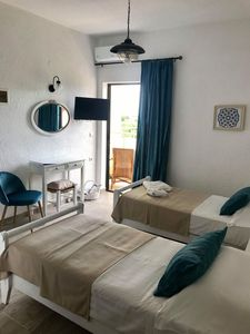 Photo for Homely Comfy Cozy Studio in Elounda Crete, The Blue Room, ground floor