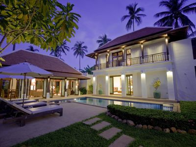 Photo for Ocean villa with private pool