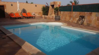 Photo for Large beautiful 4 bedroom villa to rent with pool.
