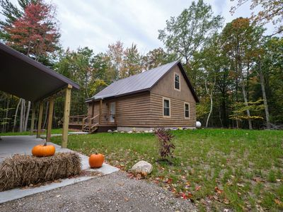 Photo for Our Neck of the Woods in Mears, with a Modern Rustic Feel