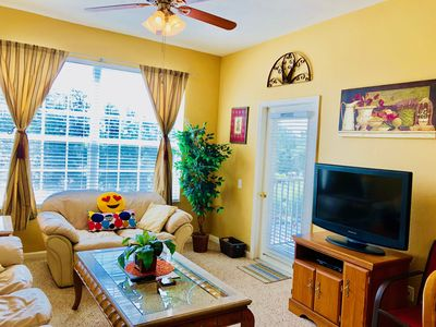 Photo for Windsor Palms 3 bedrooms Condo, Next to Resort Club House, 5 mi to Disney