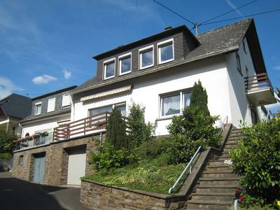 Photo for Lovely holiday home with a unique location on the Moselle on its own vineyard.