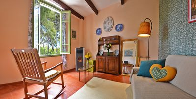 Photo for Torre Alpicella, Diano Marina villa with pine forest: sea view, sunshine and relaxation!