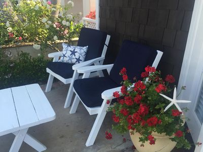 Photo for Balboa Island Cottage Steps To Bay, Remodeled With Fireplace And Beach Deco