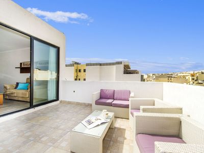 Photo for Fantastic Penthouse with big Terrace_Near Sliema