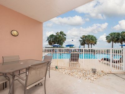 First Floor Unit, located directly next to the Pool! Price lowered by 20%!