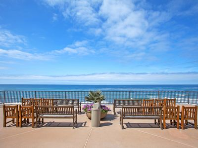 Photo for Beautiful Solana Beach, Del Mar Beach Club Condo close  beach! Special Sept Rate