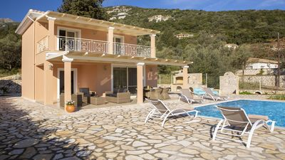Photo for Brand New 2 bed - 2 bath, (Sleeps 6) private pool, sea views and vegetable garde