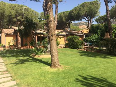 Photo for Independent house with garden - 200 mt from the beach - 100 meters from the market