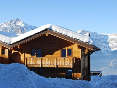 Photo for 4 Valleys Winter & Summer Luxury Chalet, Jacuzzi, Sauna, Stunning Views, nr spa