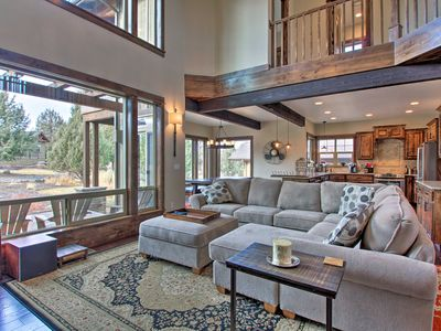 Photo for NEW- Eagle Crest Home w/2 Decks, Fireplace & BBQ