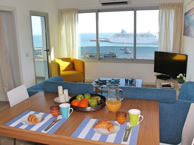 Photo for Overlooking the Marina, central location | Petronella Marina Apartment