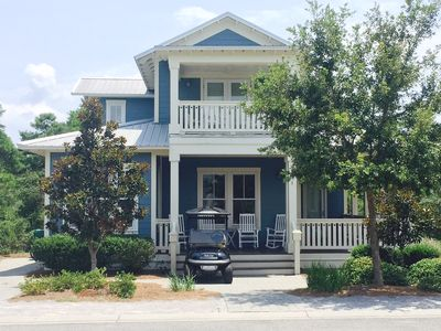 Photo for Last Minute Opening July 6-13! Walk to Beach-4BR/BA House-Gated-Golf Cart