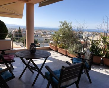 Photo for Glyfada Skyline Sea View Luxury Apartment & Business Suite, SPA & GYM