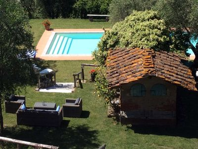 Photo for Highly rated Tuscan villa with private pool & garden stunning views, near Lucca