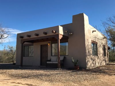 Photo for RANCH CASITA: breathtaking mountain views, sunsets, and desert wildlife!