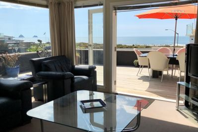 BEACH VIEW AND DECK