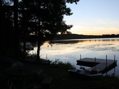 Photo for Pristene lakefront property - charming, quiet, and rustic for nature lovers.