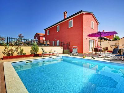 Photo for 3 bedroom Villa, sleeps 8 in Matosovici with Pool, Air Con and WiFi