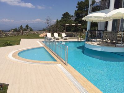 Photo for Luxury detached villa in Ovacik region overlooking to the Oludeniz beach